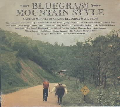 BLUEGRASS MOUNTAIN STYLE (CD)